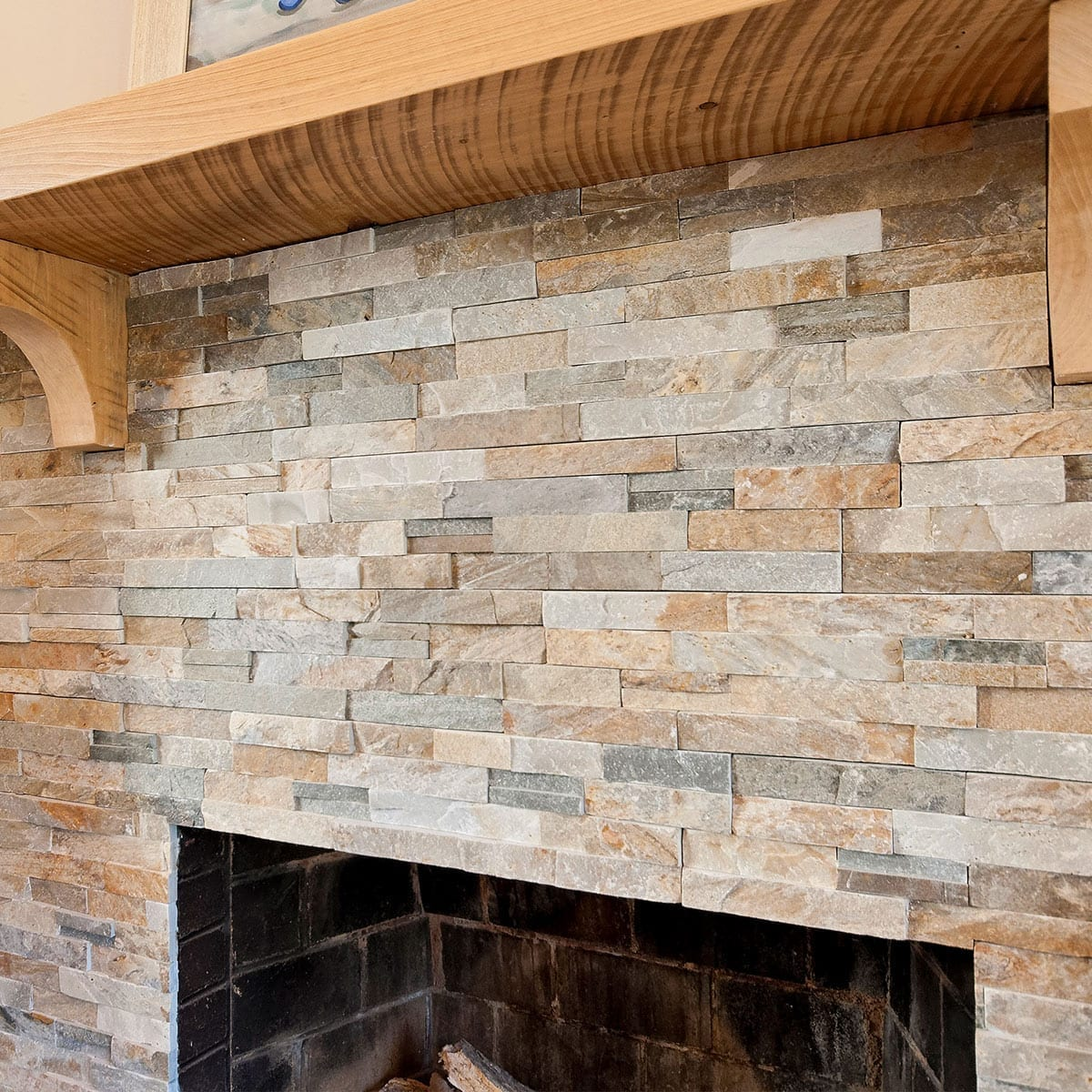 Tile Work-around A Fireplace